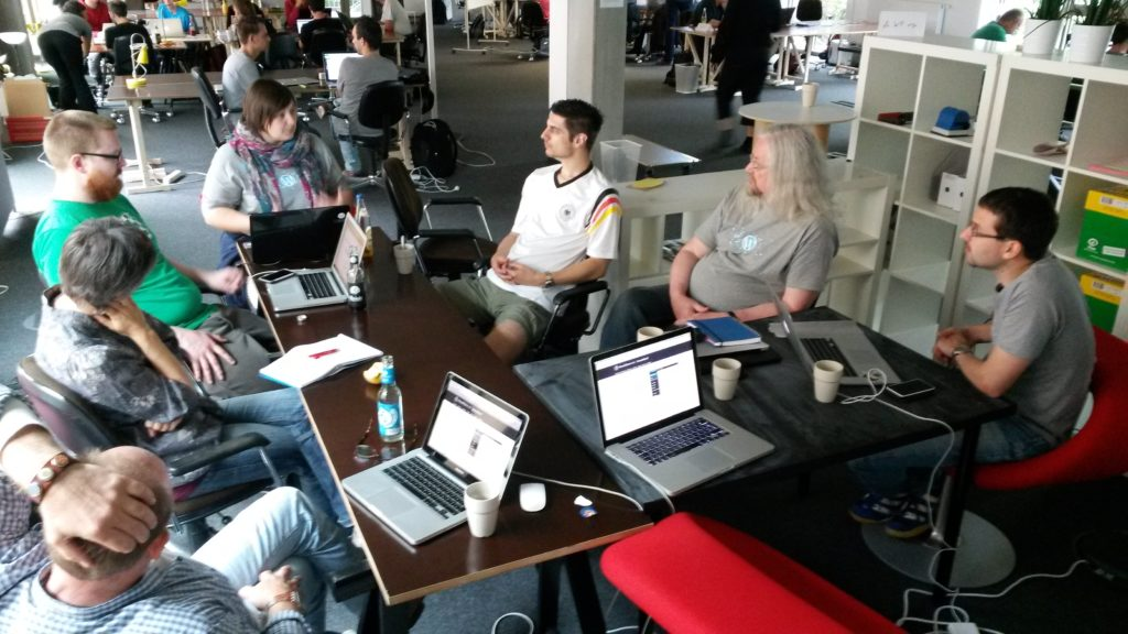 Contributor Day at WordCamp Hamburg 2014